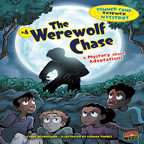 The Werewolf Chase audiobook cover art