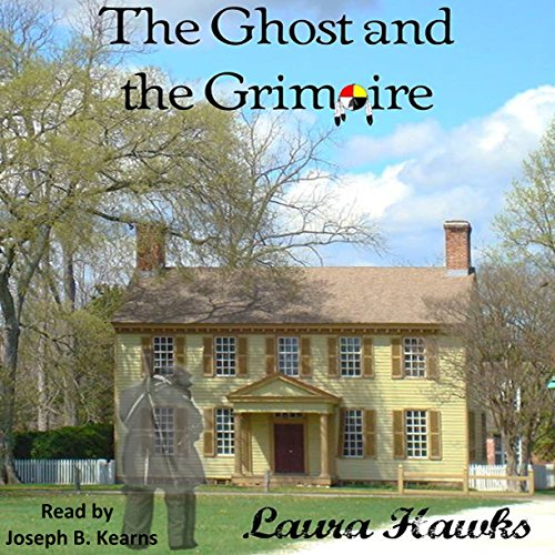 The Ghost and the Grimoire audiobook cover art