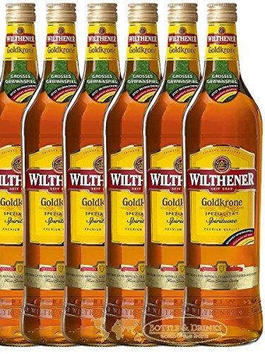 Wilthener Goldkrone Weinbrand 6 x 0,7 Liter