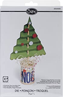 accordion fold christmas tree