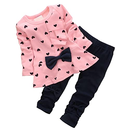 Baby girl Spanish style outfit set Teddies leggings top t shirt