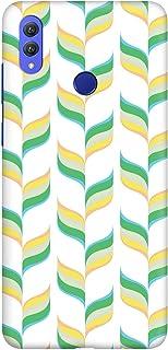 Stylizedd Huawei Honor 8X Slim Snap Basic Case Cover Matte Finish - Retro Leaves