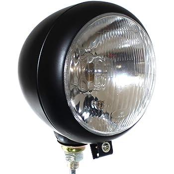 Scheinwerfer H4 Fernlicht Positionslicht Abblendlicht f/ür Traktor mit Gl/ühbirnen