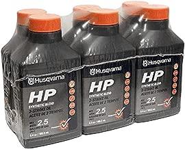 Husqvarna HP 2 Stroke Oil 6.4 Bottle 6-Pack 593152603