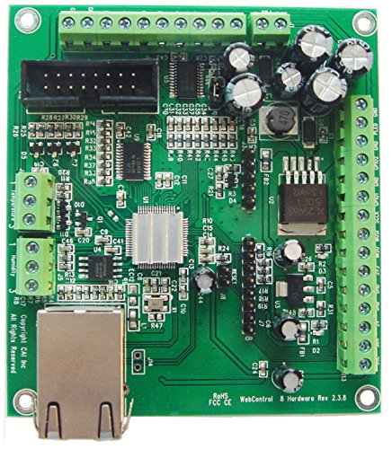 CAI Networks WebControl 8 Network IO Controller Programmable