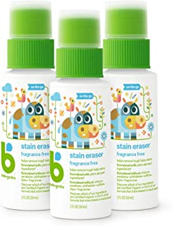 Babyganics Stain Eraser Marker, On-The-Go, 2oz, (Pack of 3) Packaging May Vary