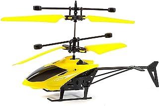 طائرة هيلوكوبتر صغيرة- اصفر