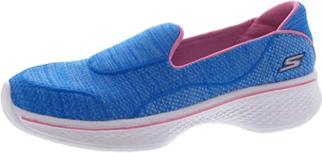 Skechers Kids Womens Go Walk 4 Speedy Sports 81136L (Little Kid/Big Kid)