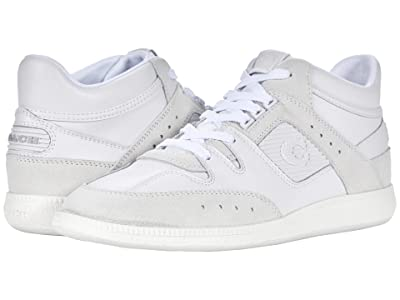 COACH Citysole Leather and Suede Mid Top