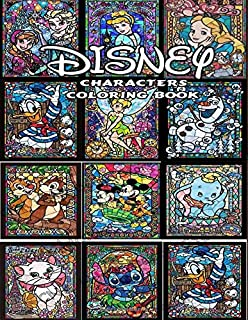 Favorite Characters Coloring Book: Favorite Characters Coloring Book Pages & Markers, Mess Free Coloring, Wonderful Gift for Kids And Adults Ultimate Color Wonder