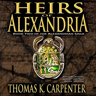 Heirs of Alexandria audiobook cover art