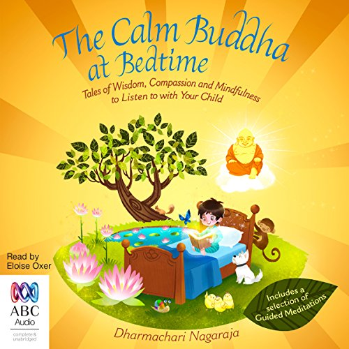 The Calm Buddha at Bedtime audiobook cover art