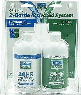 SmartMouth Original 2-Bottle Activated Mouthwash System with Pumps -32oz