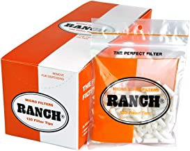 Ranch Filters Micro Slim Cigarette Filters, 120 grams