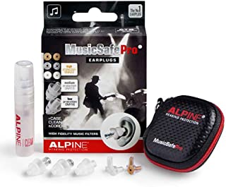 Alpine MusicSafe Pro Hearing Protection for Musician (Transparent)