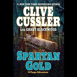 Spartan Gold audiobook cover art