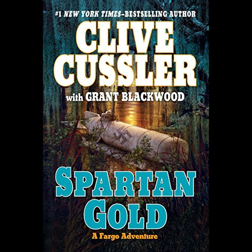 Spartan Gold audiobook cover art