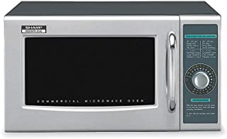 Sharp Stainless Steel Professional Microwave Oven, 0.95 cu. ft., 120V @ 60 Hz - R21LCF