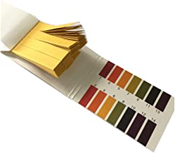Pack of 2 PH 1-14 Test Paper Litmus Strips Tester, 80pcs Per Pack
