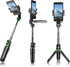 LanParte Selfie Stick Tripod Phone Stand all in 1 Portable Extendable Stabilized with Wireless...
