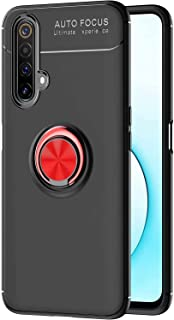 DOHUI Case for Realme X50 Pro Player, Slim Hybrid Dual Layer Shock-Absorption Cover Case with finger Ring Holder Compatibl...