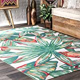 nuLOOM Lindsey Country Floral Indoor/Outdoor Rug, 9' x 12', Multi