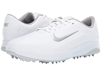 Nike Golf Vapor (White/Metallic Silver/Pure Platinum) Men