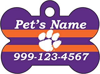 Clemson Tigers Personalized Name Number