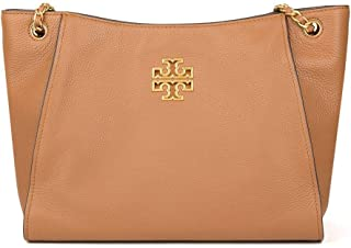 Tory Burch Women's Britten Small Slouchy Tote in Pebbled Leather