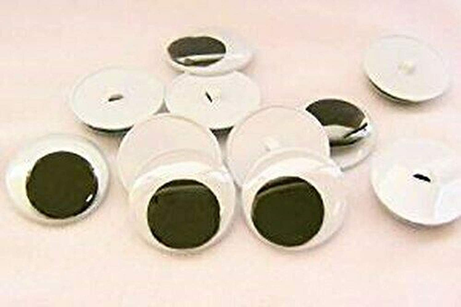 Challenge the lowest price of Japan ☆ Time sale Wiggle Eyes with Sew Backs 35mm 10pairs On