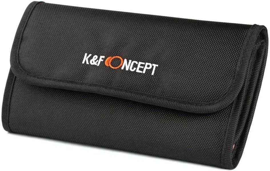 K F Concept 6 Fächer Objektiv Filter Tasche Hülle Kamera