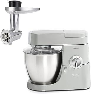 Kenwood 凯伍德kmm770gl + AT950厨师机,带有绞肉配件,银色
