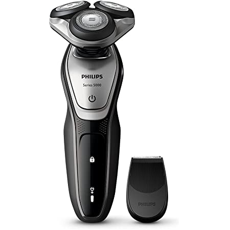 フィリップス 5000シリーズ メンズ 電気シェーバー 27枚刃 回転式 お風呂剃り & 丸洗い可 トリマー付 S5072/06