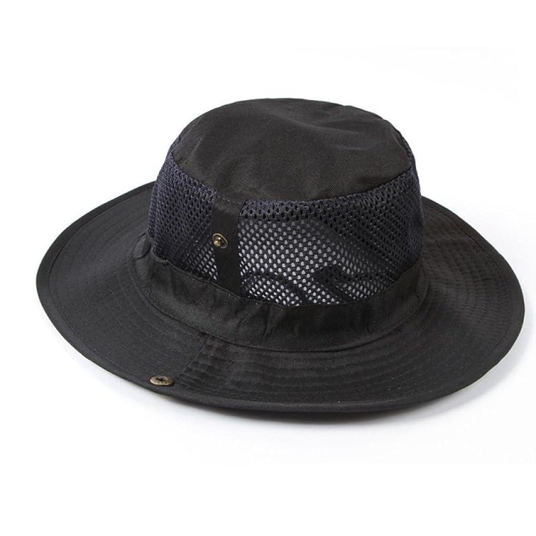 交差点に対して模索HUYBソリッドカラー 帽子 ユニセックス 顔面の日焼け対策 紫外線 UVカット 日よけ止め アウトドア 通気性