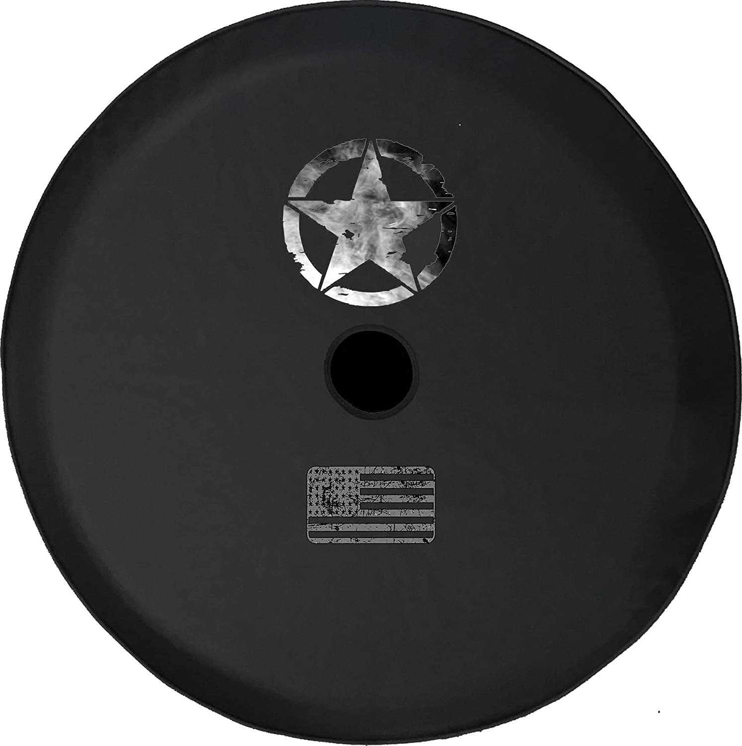 JL Spare Tire Cover Oscar Rapid rise Mike SilverWh Star Dark Smoke Military National uniform free shipping