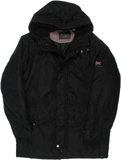 Ben Sherman Men's Parka Jacket with Sherpa Hood Lining