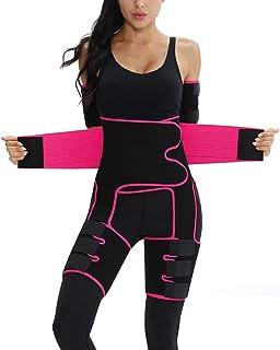 Sponsored Ad - 4 in 1 Elastic Band S-7XL Arm and Thigh Waist Trainer for Women,Butt Lifter High Waist Enhancer Waist Trimm...
