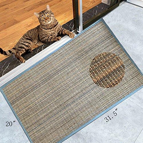 Diversity world Natural Sisal Cat Scratching Mat or NonSlip Floor Mat for in Front Door of or Outside The Door20quotx32quot Multicolour