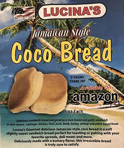Jamaican Style Coco Bread