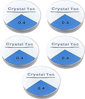 Tomedeks Fil Extensible Élastique Transparent Fabrication de Bracelets,Fil pour Bijoux 120 m,0.4mm