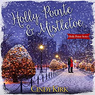 Holly Pointe & Mistletoe audiobook cover art