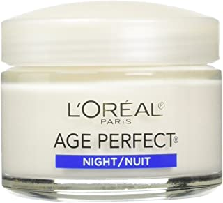 L'Oreal Paris Age Perfect Night Cream, 2.5 Fluid Ounce (Pack of 2)