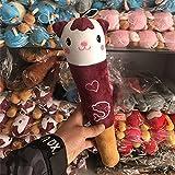 Spielzeug Hammer Cute Cartoon Plsch Massage Zurck Dekompression Fitness Knock Back Stick Spielzeug Puppe (Brown Ktzchen)