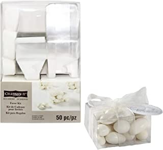 Clear Favor Boxes Kit by Celebrate It, 2.3