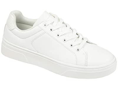Journee Collection Comfort Foam Leeon Sneaker (White) Women