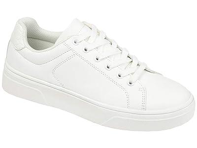Journee Collection Comfort Foamtm Leeon Sneaker (White) Women