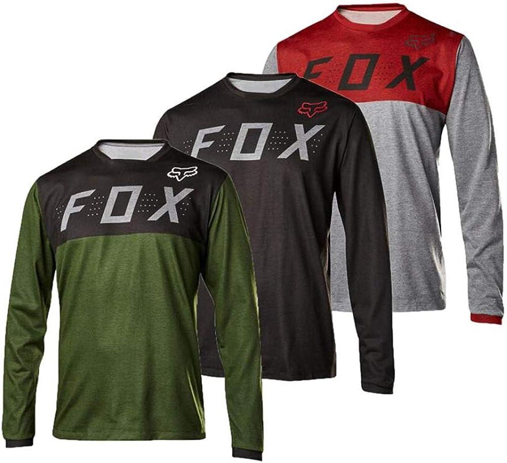 Men 5 popular Motocross Jersey Long Sleeves Bike Motorcycle Racing Max 55% OFF Shirt R