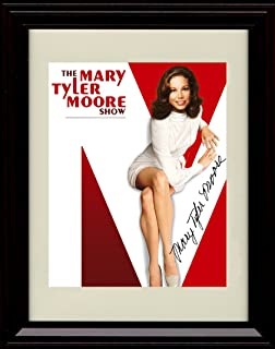 Framed Mary Tyler Moore Show Autograph Replica Print - Mary Tyler Moore