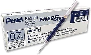 Pentel Refill Ink for BL57/BL77 EnerGel Liquid Gel Pen, 0.7mm, Metal Tip, Blue Ink, Box..