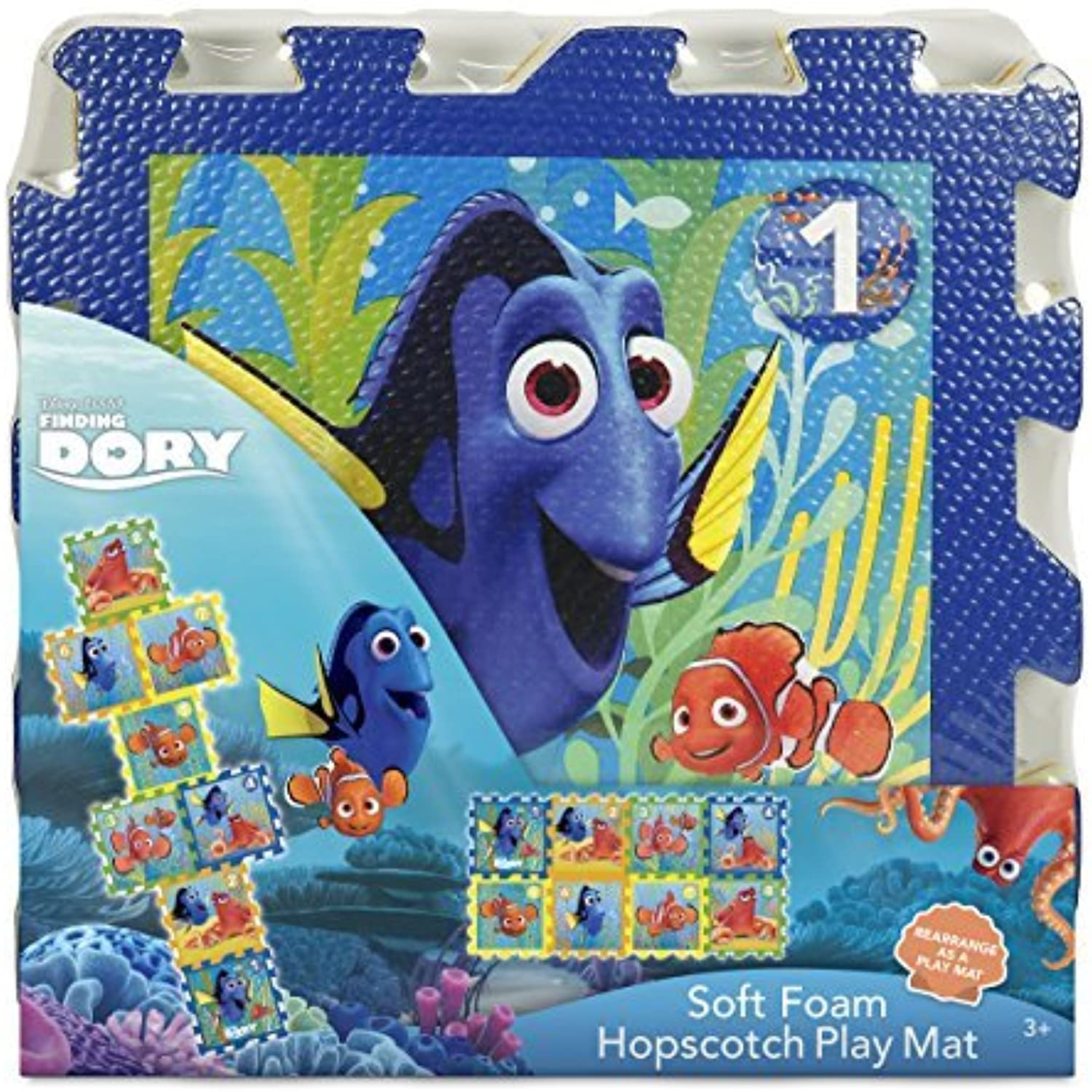Disney Finding Dory Foam Hopscotch Mat (8 Piece)